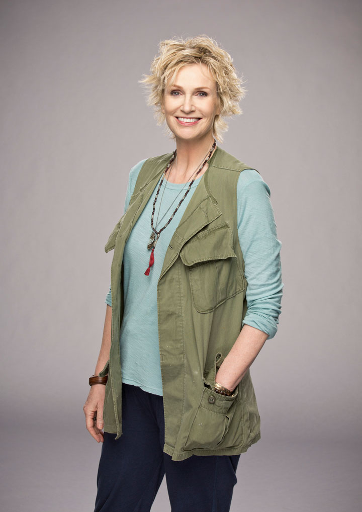 1. Jane Lynch as our guardian angel? Yes, please!