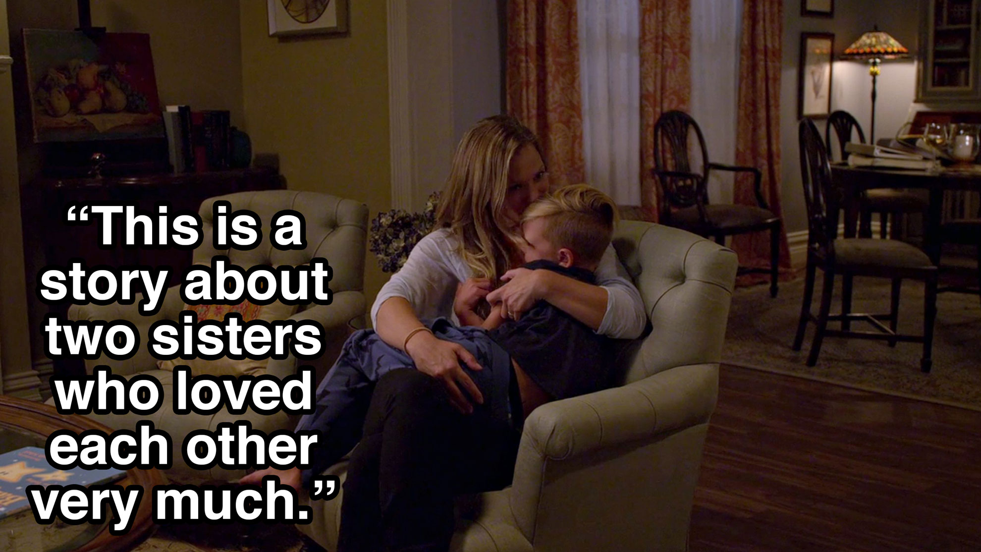 JJ opened up to Henry about her sister, Rosaline.