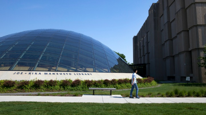 9. The Joe and Rika Mansueto Library at the University of Chicago
