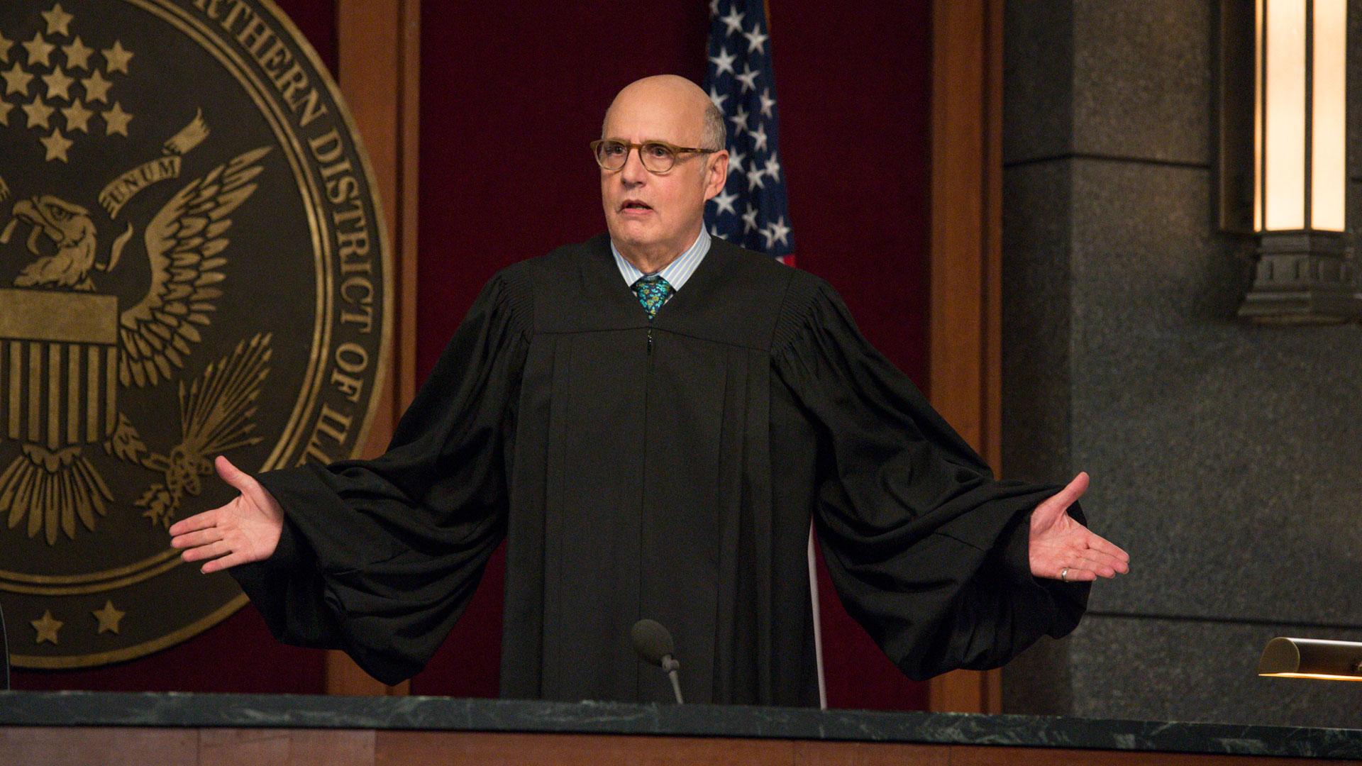 Judge George Kluger (Jeffrey Tambor)