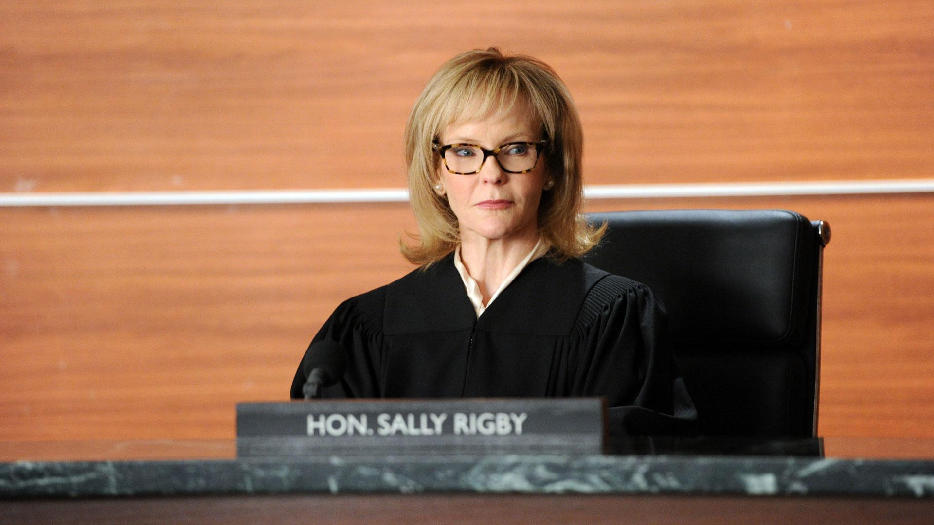 Judge Sally Rigby (Deborah Rush)