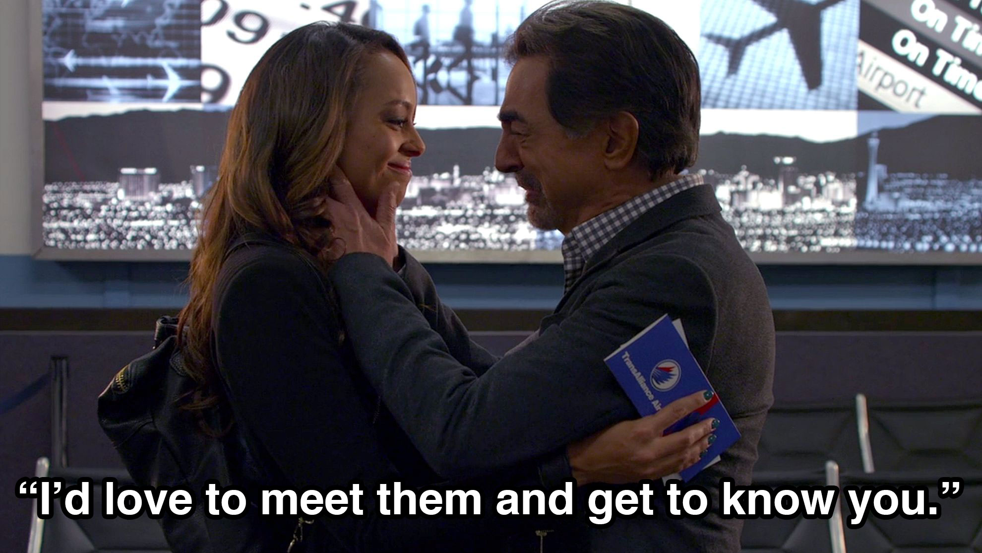 David Rossi found out he has a daughter—and a grandson.