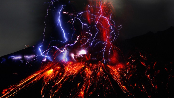 7. The Earth. The Earth. The Earth is on fire!