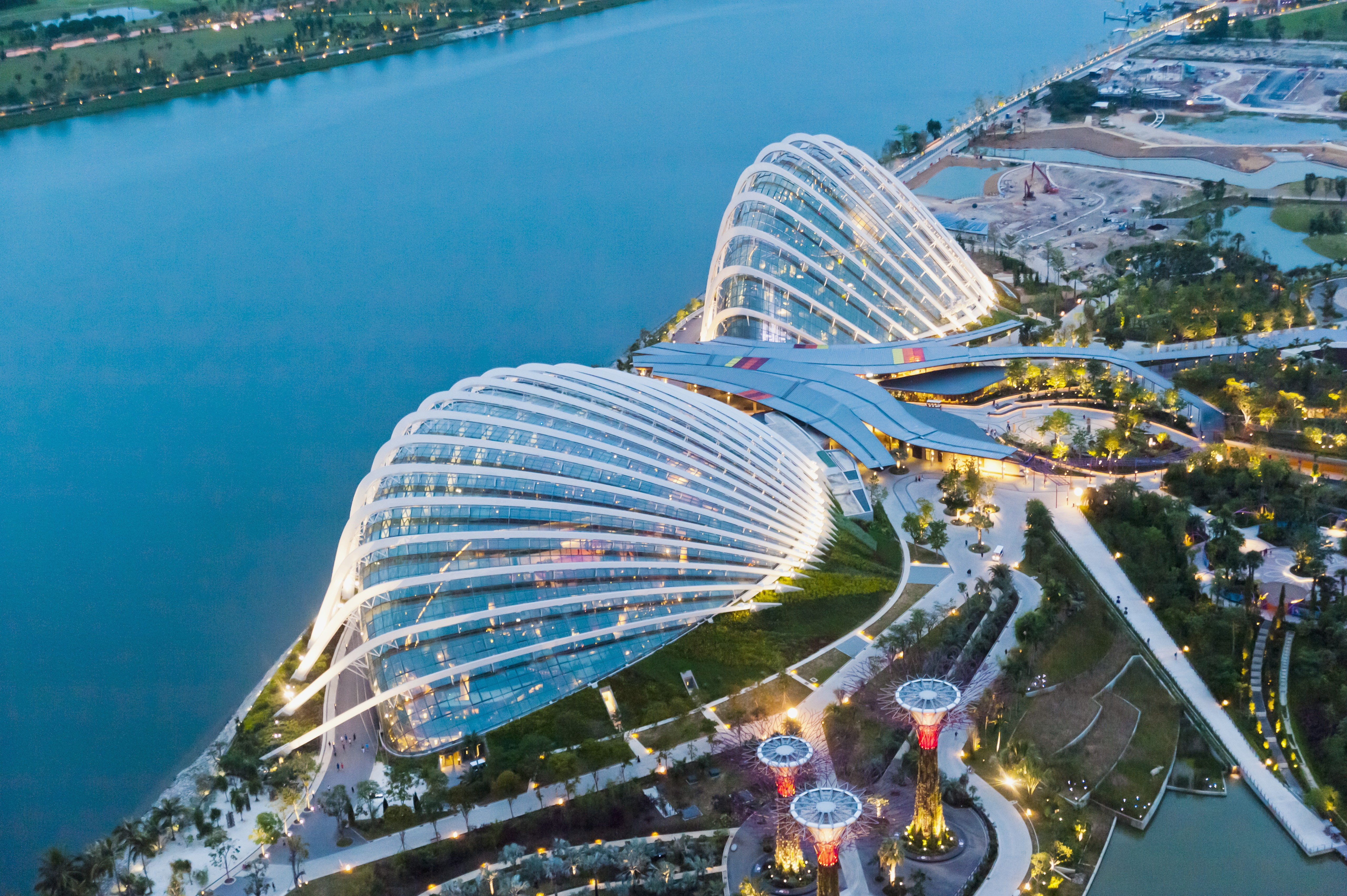 4. The Flower Dome at Gardens by the Bay in Singapore
