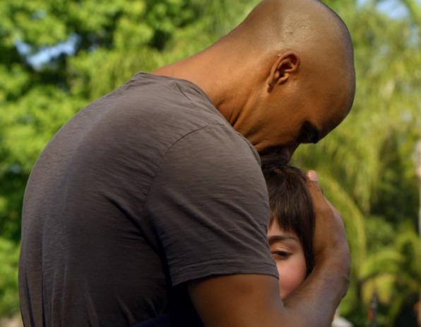 5. When he saved a little girl.