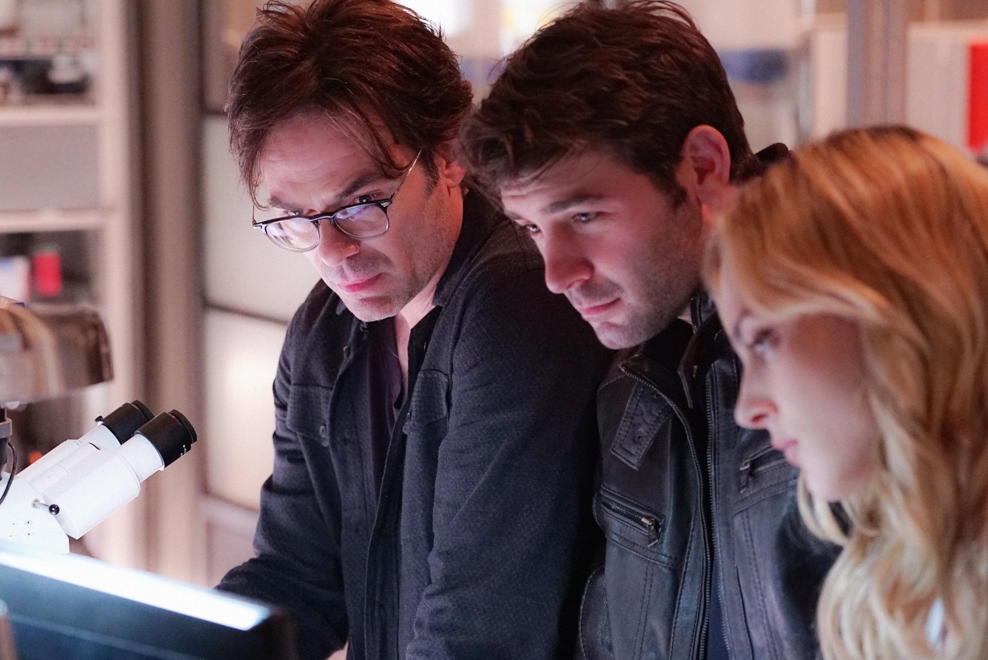 Mitch, Jackson, and Chloe ponder their next move.