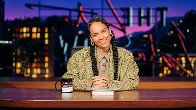 Alicia Keys Returns To The Late Late Show For Week-Long Residency Sep. 21-24