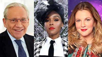 Bob Woodward, Janelle Monáe, And Drew Barrymore Coming To A Late Show
