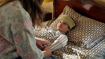 Mary Sings A Sick Young Sheldon To Sleep With