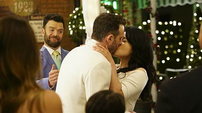 Congrats Quintis! Watch Happy And Toby's Wedding On Scorpion