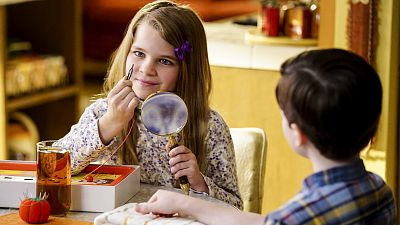 Missy Plays Real-Life Operation With Young Sheldon