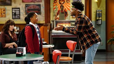 Franco Signs Up To Be A Big Brother On Superior Donuts