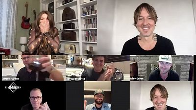 Keith Urban Surprises Riley Green And Tenille Townes With Their ACM New Artist Wins