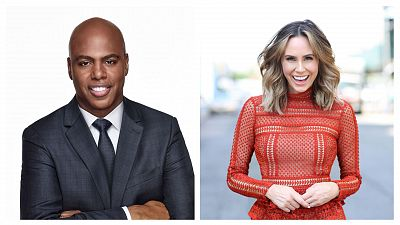 Kevin Frazier And Keltie Knight To Host 2020 GRAMMY Red Carpet Live