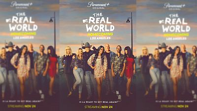 MTV's The Real World Homecoming: Los Angeles To Premiere Nov. 24 On Paramount+