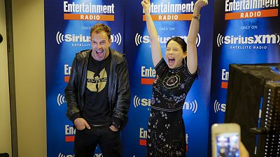 A Weekend In New York With Jonny Lee Miller And Lucy Liu