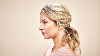 Get Blue Bloods Star Vanessa Ray's Pretty Ponytail Look